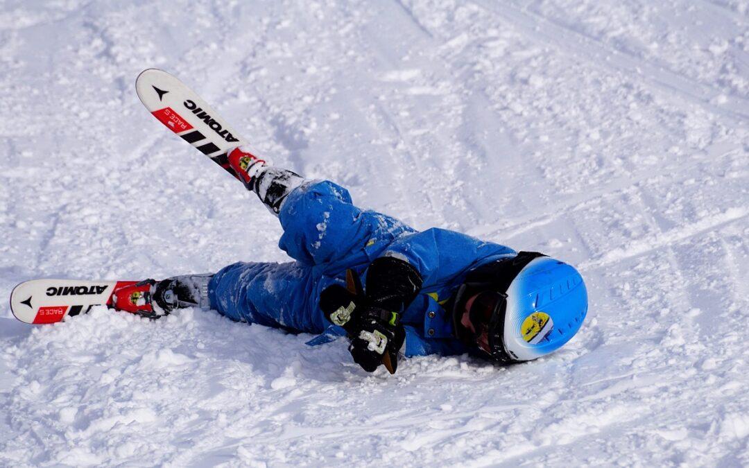 Práctica de esquí y ligamento cruzado